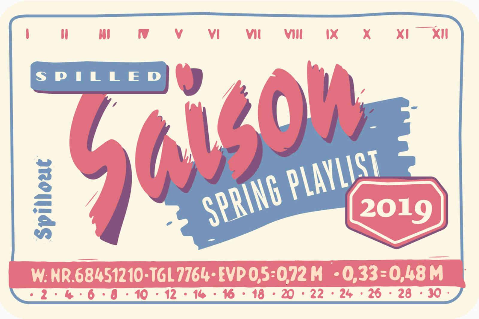 Playlist Spring Spilled Saison