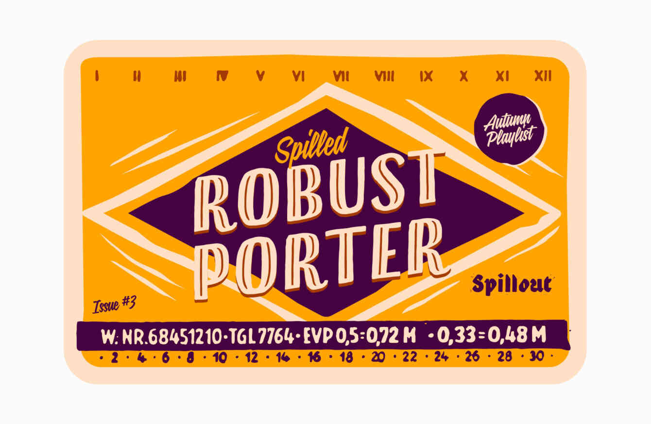 Playlist Autumn Spilled Robust Porter 1800