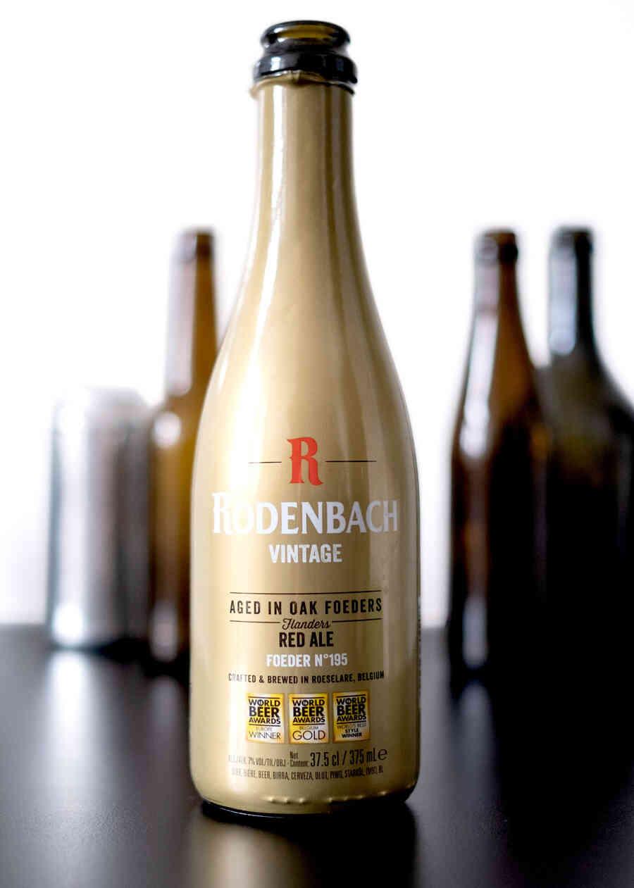 Brouwerij Rodenbach Vintage 2015 (Foeder 195), Frontansicht Flasche.