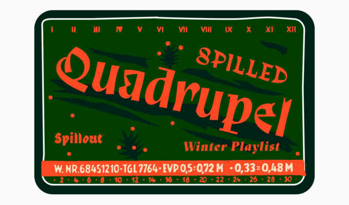 Playlist Winter Spilled Quadrupel 1800