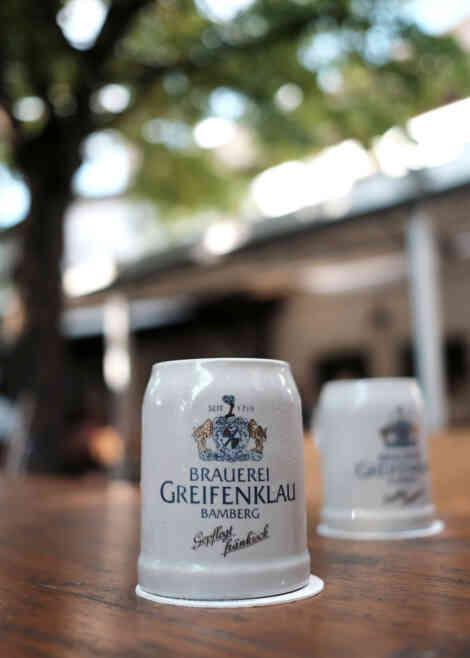Brauerei Greifenklau, Bierkrug